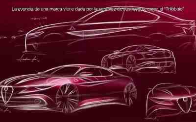 Alfa Romeo Giulia sketches