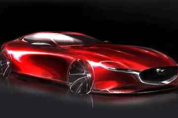 Mazda RX-Vision sketch