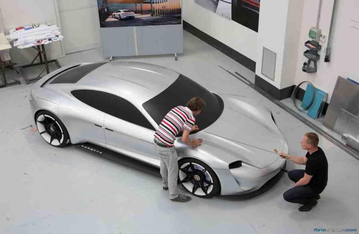 Design Story: Porsche Mission E Concept