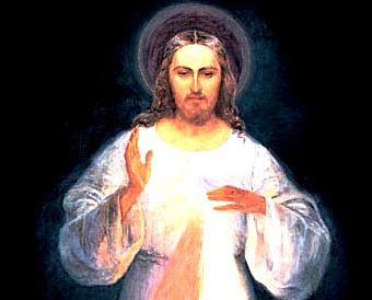 Primera imagen de Jesús Misericordioso