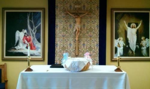 altar de sacerdotes por la vida
