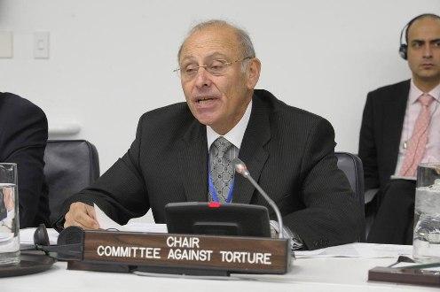 Comite de la ONU contra la Tortura Claudio Grossman