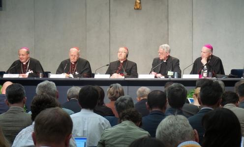conferencia de prensa sinodo de la familia