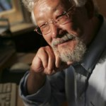 David Suzuki at his computer
