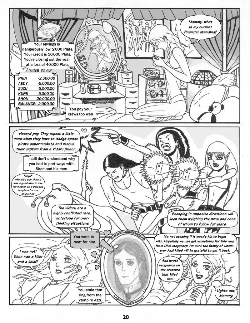 Forsaken Stars Issue One Page 20