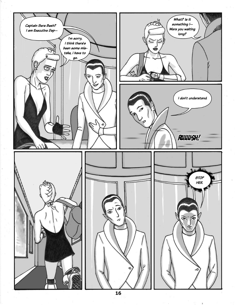 Forsaken Stars Issue Three, Page 16