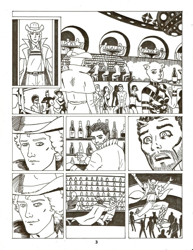 Forsaken Stars Issue Five, Page 3