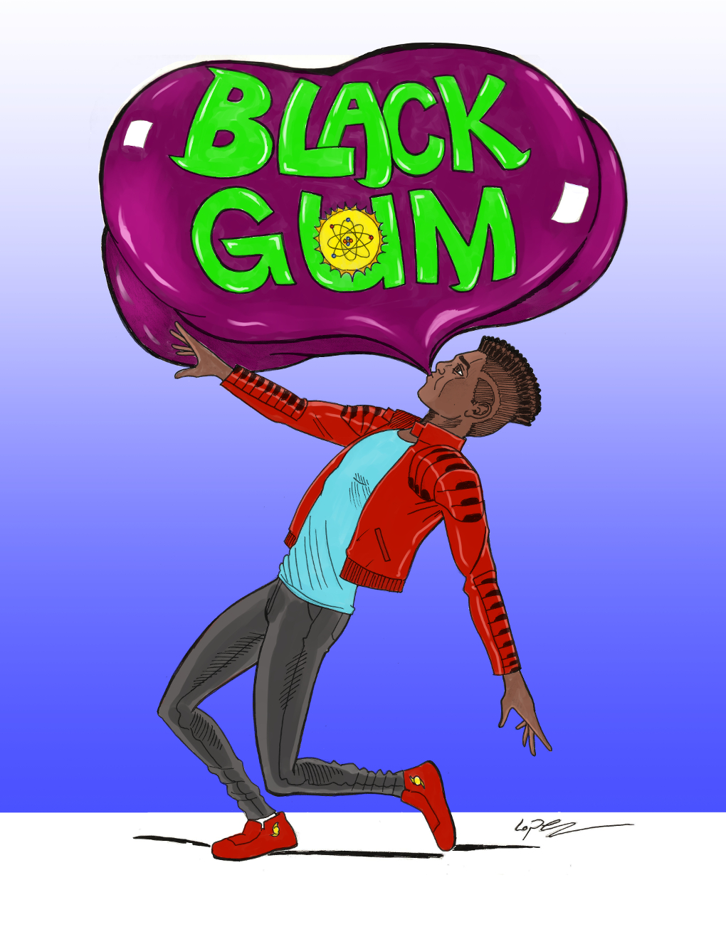 Black Gum Issue 1 Cover Art