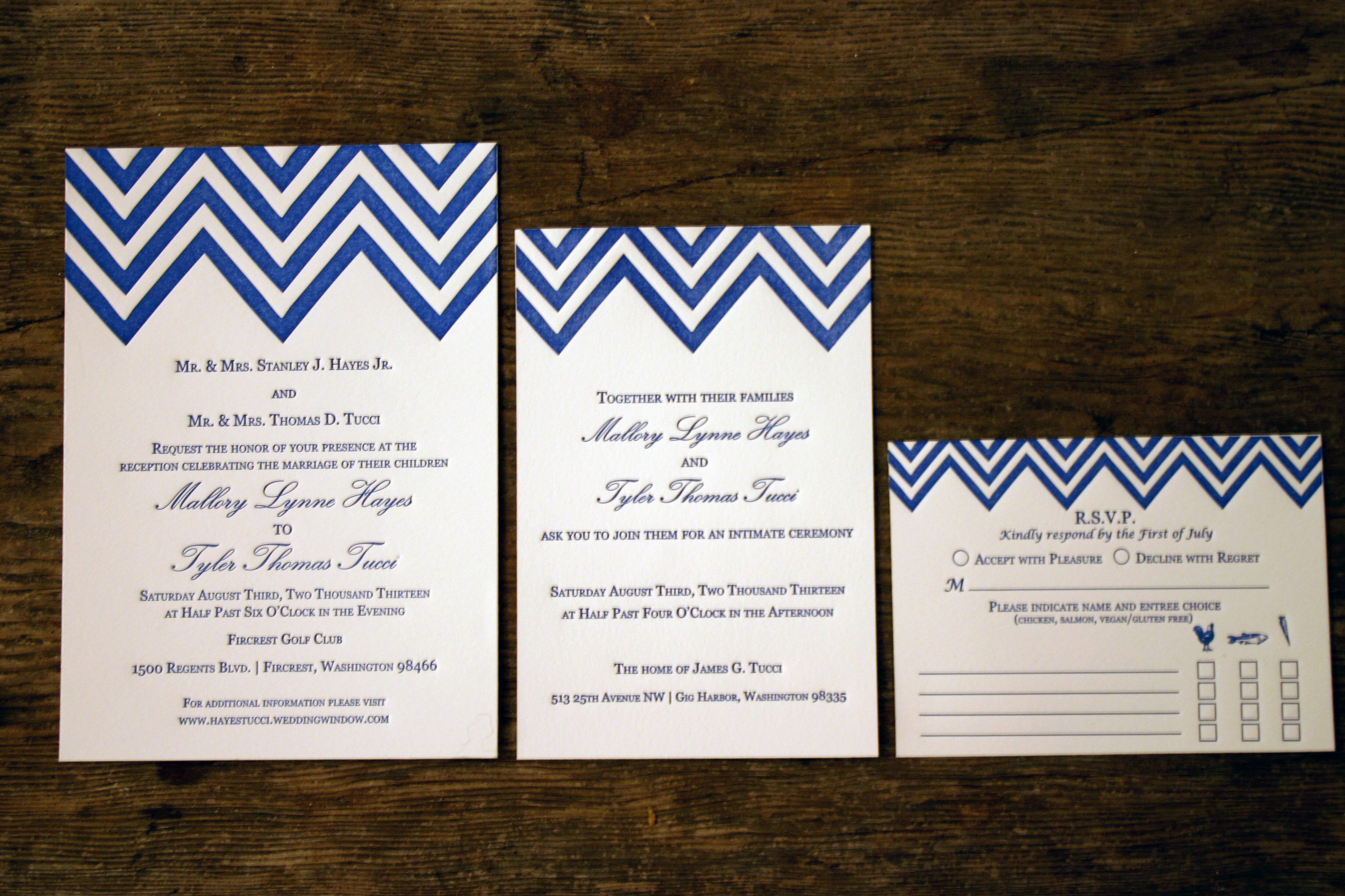 wedding invitations thermography vs letterpress letterpress wedding invitations chevron stripes chevron wedding invitation letterpress wedding invitation