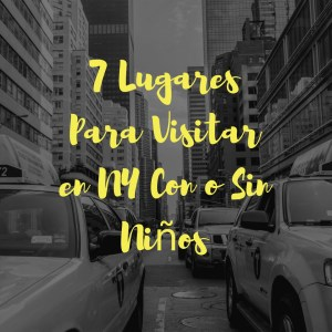 7 Lugares Para Visitar en NY Con o Sin Niños