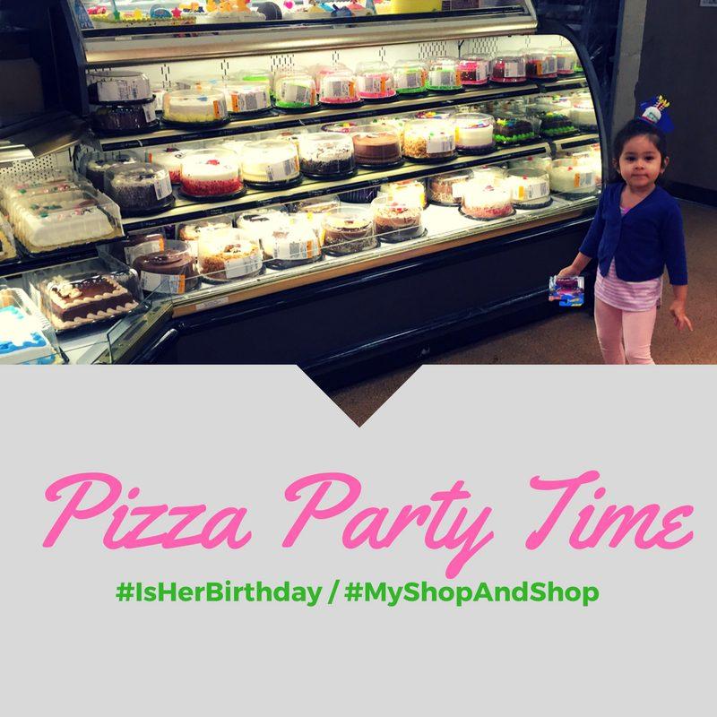 Pizza Party Time / #ItsHerBirthday #MyStopAndShop