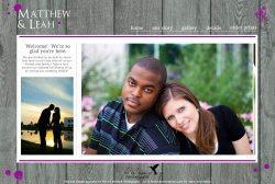 Small Of Wedding Website Examples