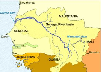 river senegal