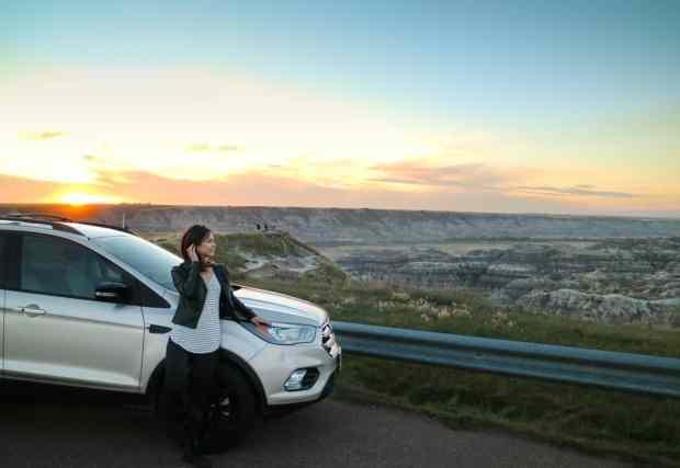 2017 Ford Escape in Canadian Badlands (Drumheller), Alberta, Canada