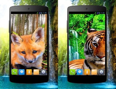 3D animals parallax Live wallpapers - Android Forums at ...