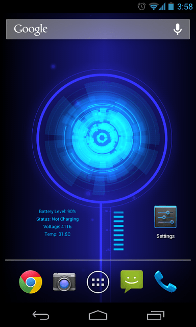 [Released] Battery Core Live Wallpaper - Android Forums at AndroidCentral.com