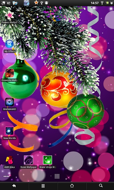 Christmas live wallpaper - Android Forums at AndroidCentral.com