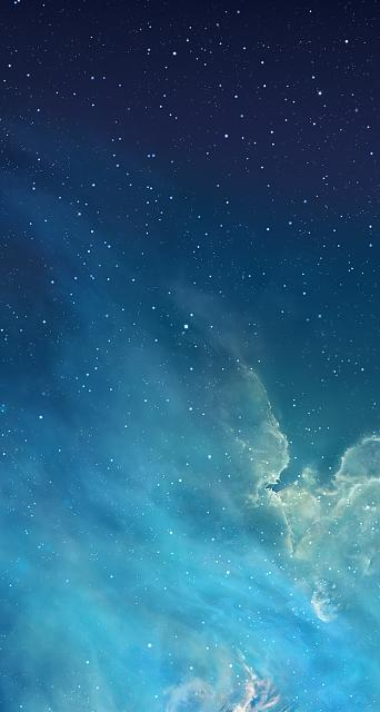 How can I restore my iPad lock screen's original starry night sky wallpaper? - iPhone, iPad ...