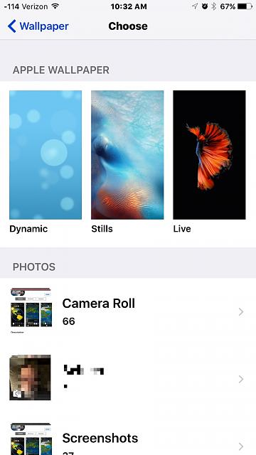Live Wallpapers not working. - iPhone, iPad, iPod Forums at iMore.com