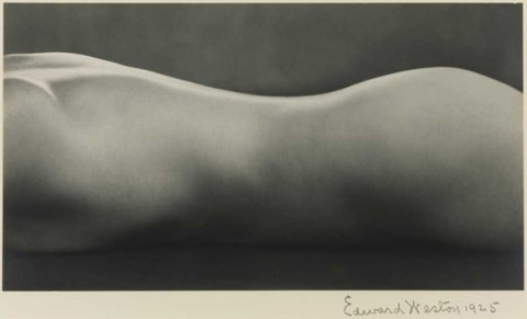 Edward Weston, Nude (1925)