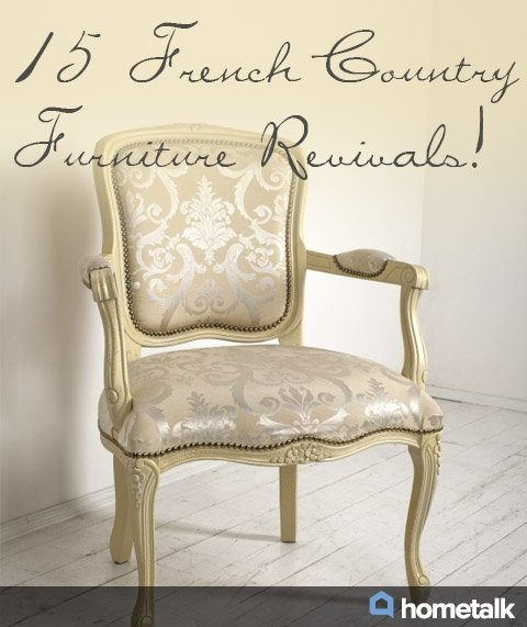 Country French Kitchen Chairs 2