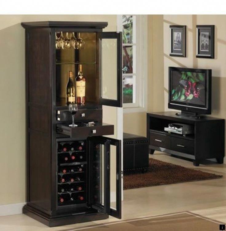 Bar With Refrigerator Wine Cooler Cabinet Furniture Foter7