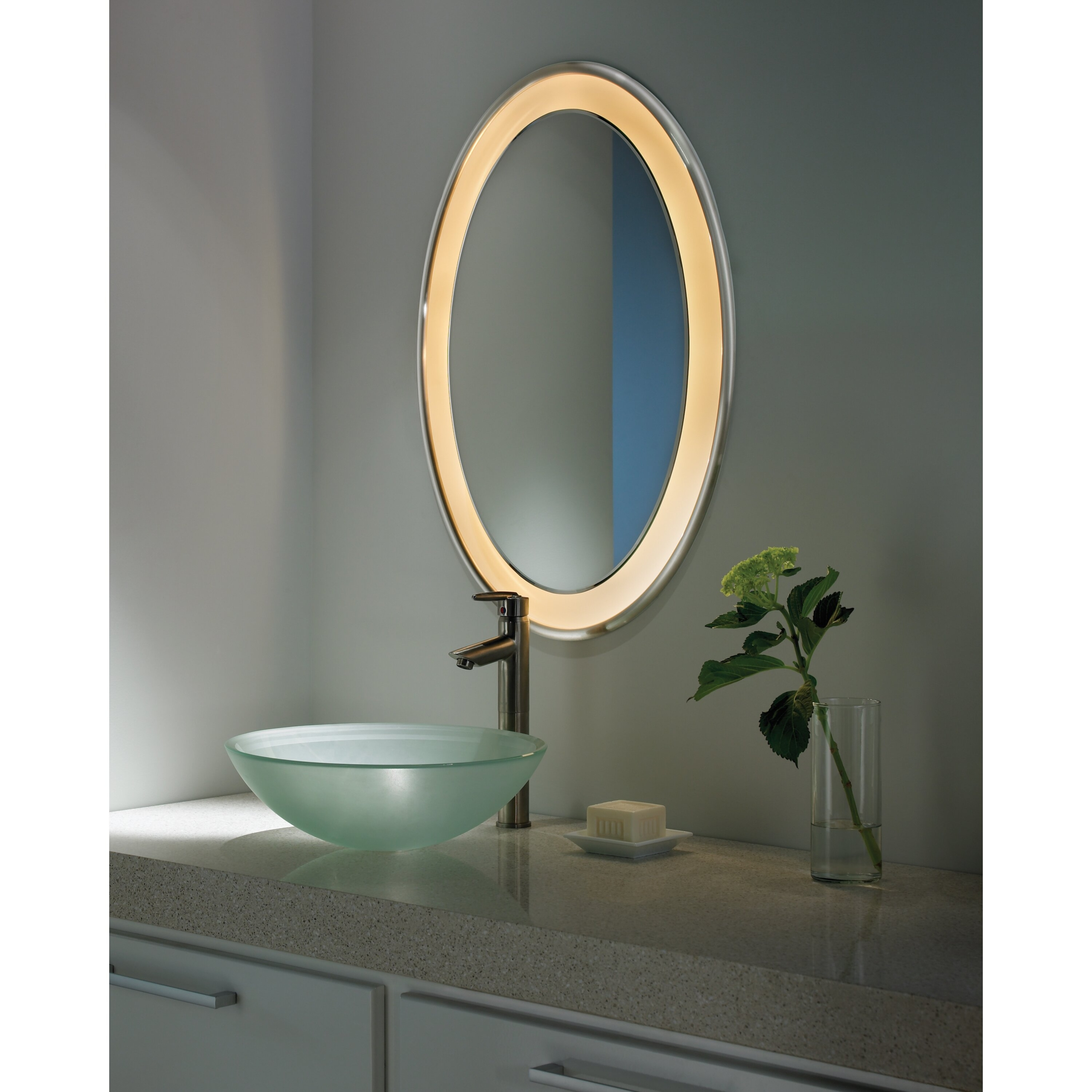 Oval Medicine Cabinets Oval Mirror Cabinet M60