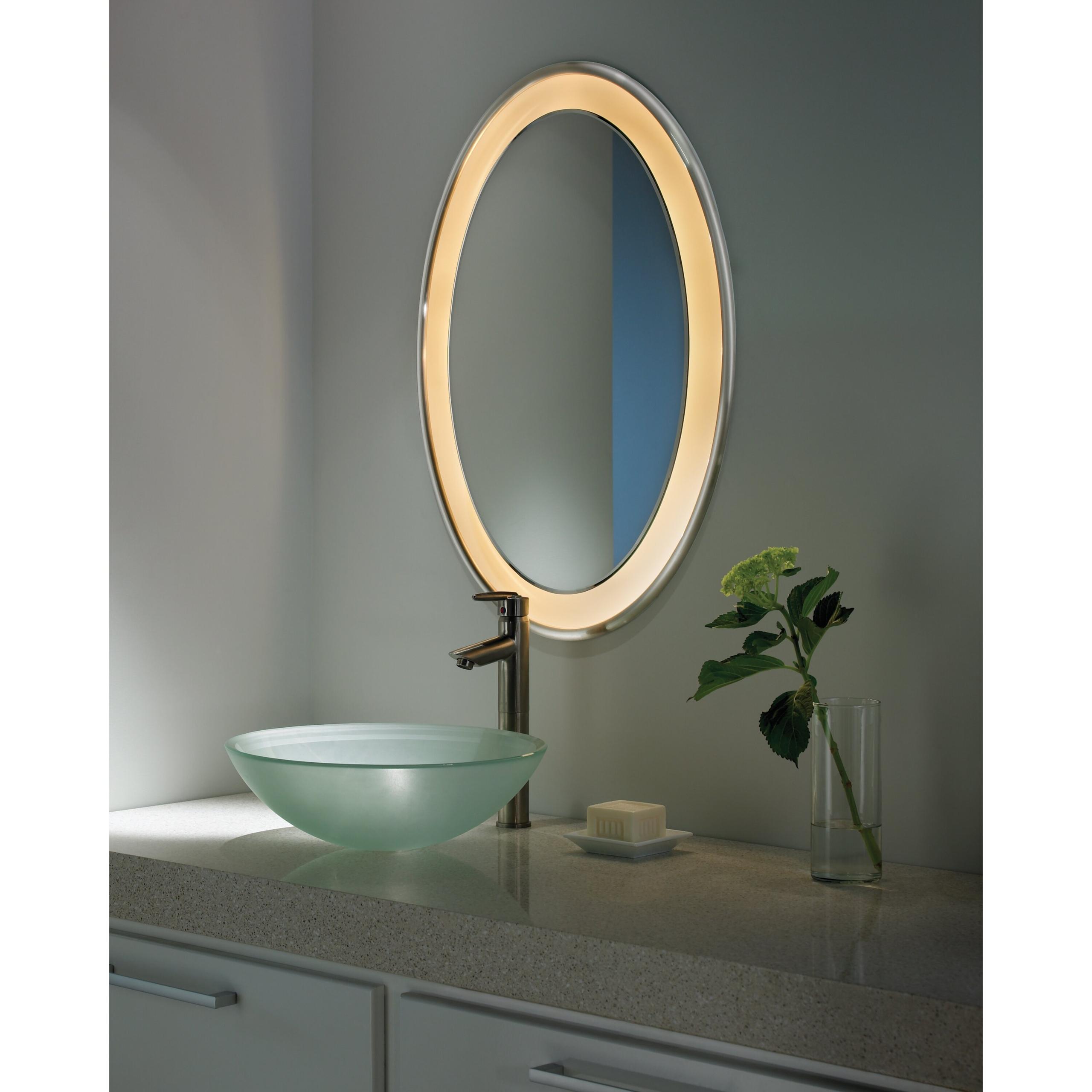 Oval Medicine Cabinets Oval Mirror Cabinet M60