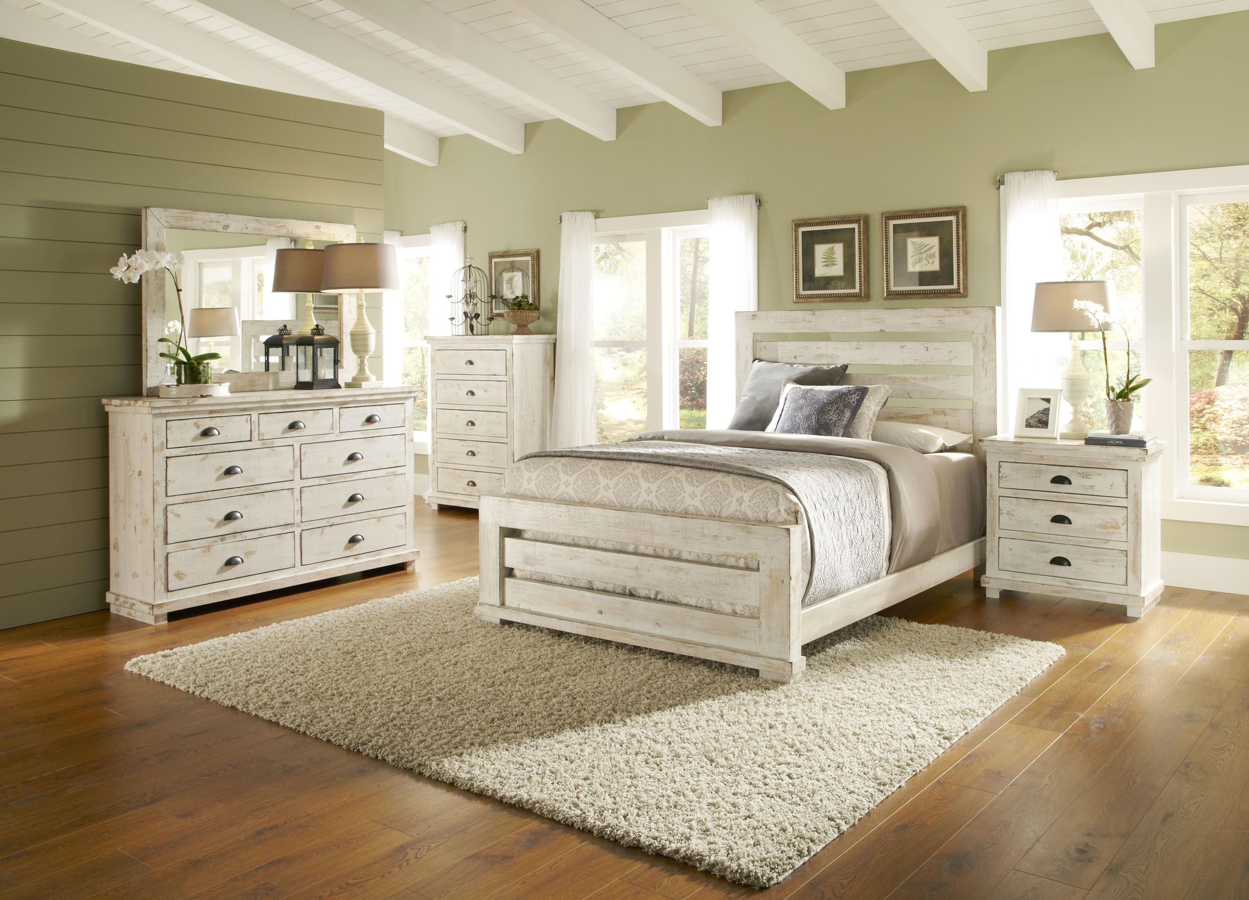 Foter Distressed Wood Bedroom Sets