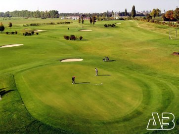 Luftbild Golf Range Schwechat