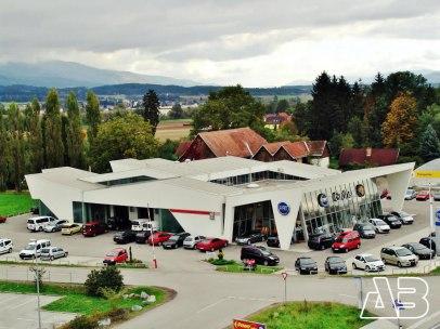 Luftbild Autohaus Grohs in Wolfsberg