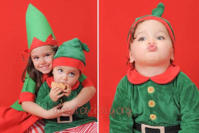 Fotografías de estudio para Navidad en Granada