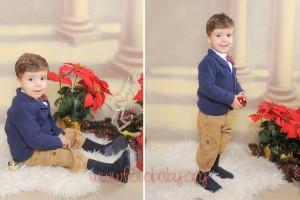 Fotografías de estudio para Navidad en Granada FotoBaby Fotografa infantil bebes embarazo fotografos (1)