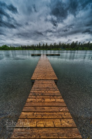Gloomy Rainy Day on Norbury Lake Darcy Michaelchuk