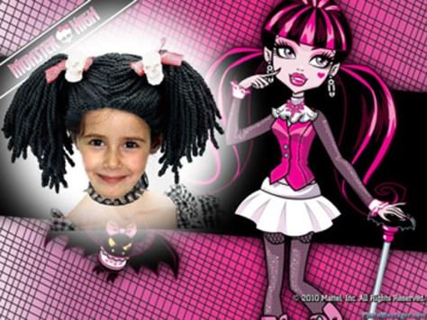 Marco para fotos de Monster High