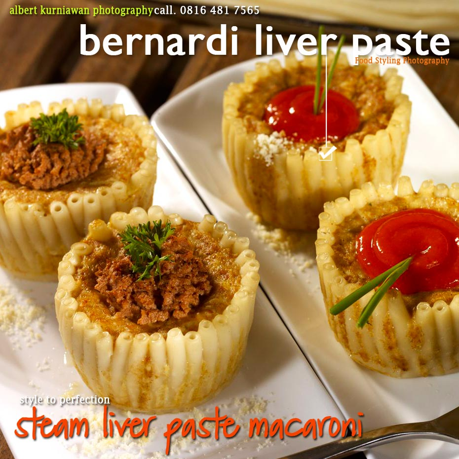 steam liver paste macaroni