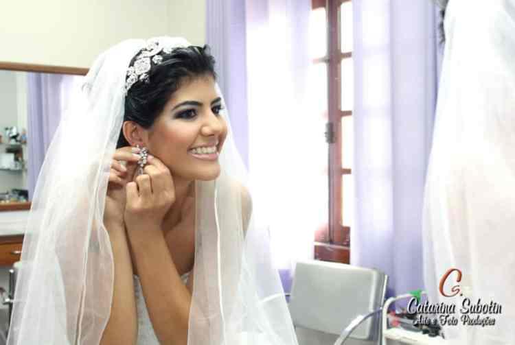 coque noiva com véu