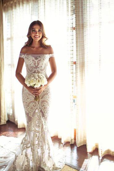 vestido de noiva praia