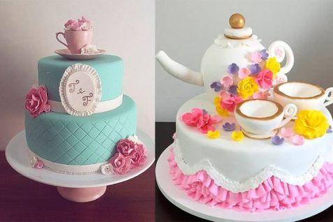 opção de bolo chá de lingerie
