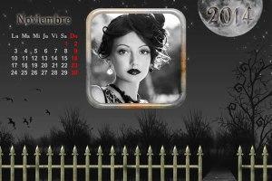 Calendario 2014 Mes Noviembre