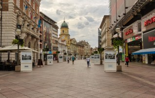 Rijeka, Stare miasto, Chorwacja – spacer wirtualny