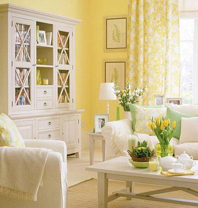 ruang tamu nuansa kuning (8)
