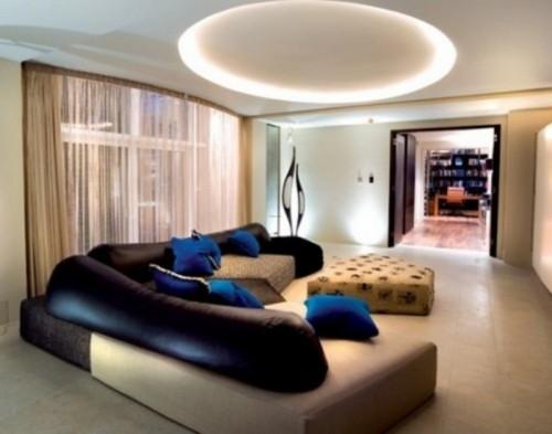 ruang keluarga minimalis 12