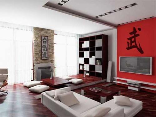 ruang keluarga minimalis 15