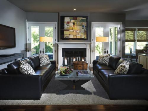 ruang keluarga minimalis 9