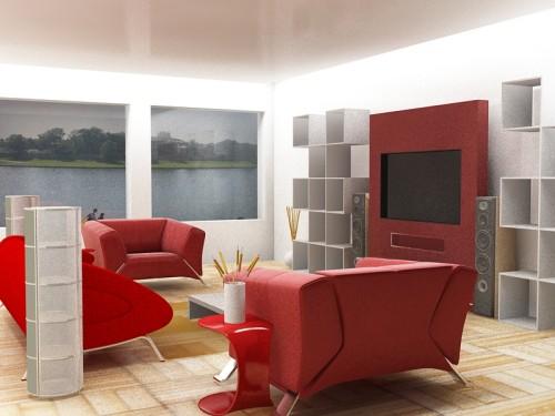 ruang tamu merah putih 3