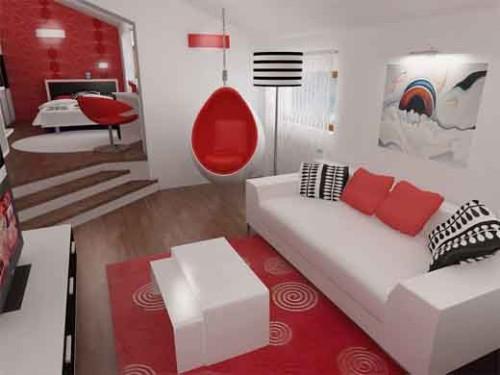 ruang tamu merah putih 7