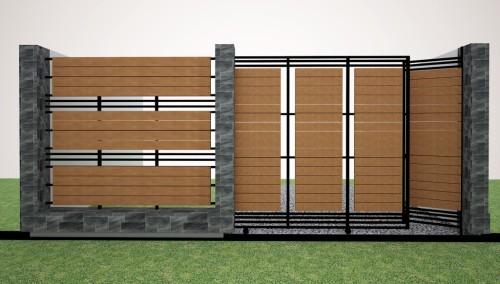 pagar rumah sederhana 1