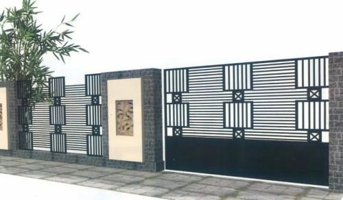 pagar rumah sederhana 6