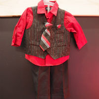 Thrift Store Toddler Suit  from Found by the Pound